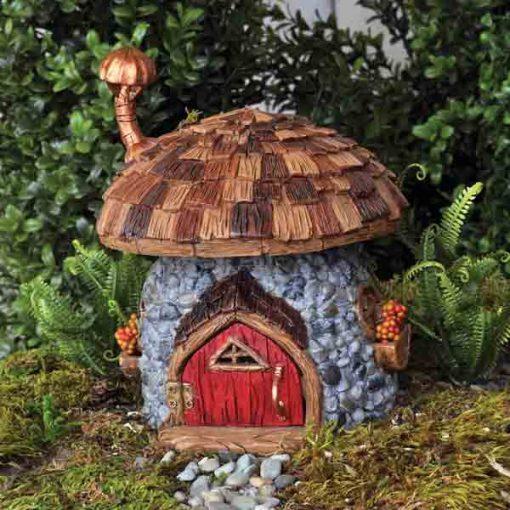 Šindľový hríbikový domček