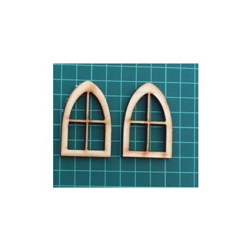 Špicaté okná (2 ks)