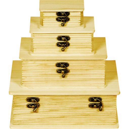 Uzamykateľná krabička v tvare knihy