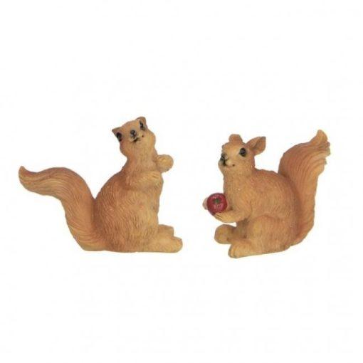 Veveričky (2 ks)