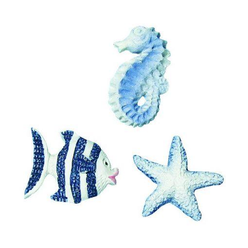 Poliresínový ornament, morské živočíchy