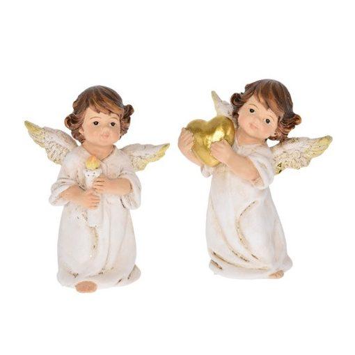 Anjel so sviečkou/srdiečkom