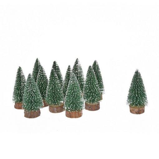 Zasnežený stromček 5 cm, 12 ks